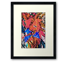 Abstract Artwork 08.01.2013 Framed Print