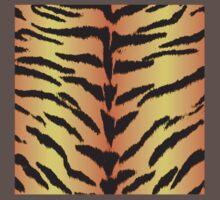 Tiger Skin Pattern Kids Clothes