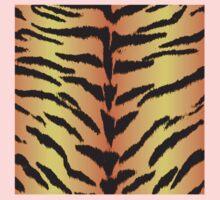 Tiger Skin Pattern Baby Tee