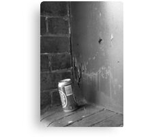 Empty Can Canvas Print