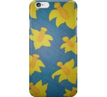 Pop Art Daffodils iPhone Case/Skin