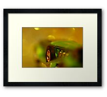 Driven To Abstraction Framed Print