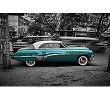 Buick Eight Roadmaster Photographic Print