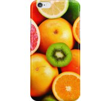 Colorful Citrus Fruits iPhone Case/Skin