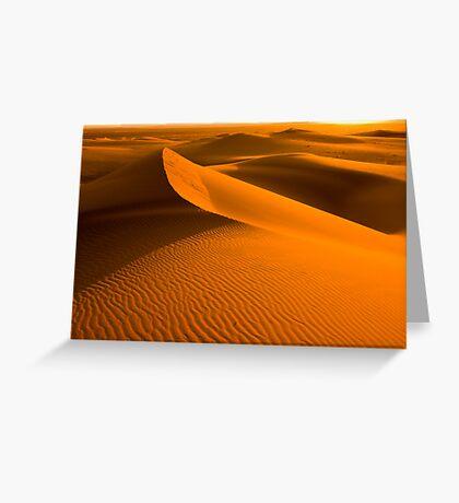 Arabian Sunset Greeting Card