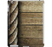 Vintage Rustic Rope and Wood iPad Case/Skin