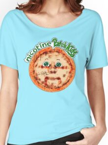 Nicotine Patch Kids Women's Relaxed Fit T-Shirt