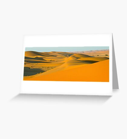 Arabian Dunes Greeting Card