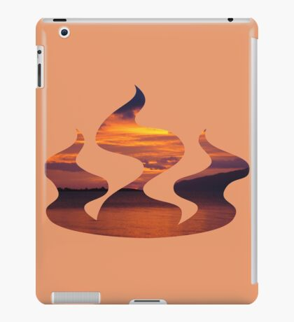 red sky in the morning iPad Case/Skin