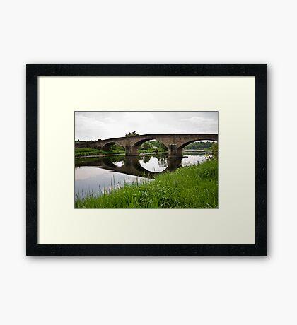 Bridge over the River Ribble Framed Print