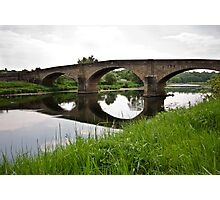 Bridge over the River Ribble Photographic Print