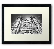 Palma Cathedral Framed Print