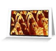 Images of Buddha Greeting Card