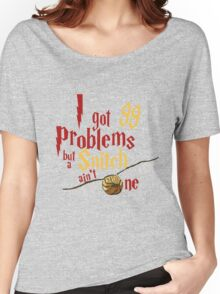 LION PROBLEMS Women's Relaxed Fit T-Shirt