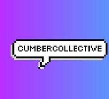 Cumbercollective Pixel Speech Bubble by sociopathsunday
