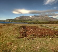 Lough Inagh Valley View by John Quinn