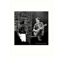 AP and NS in Paso Robles, 2009 Art Print