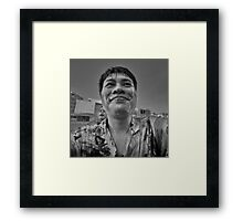 Songkran in Bangkok (11) Framed Print