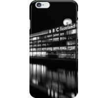 BBC Scotland and the Clyde at Night iPhone Case/Skin