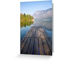 Visions of Bohinj Greeting Card