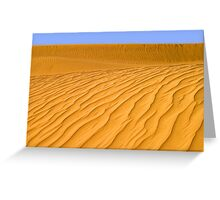 The Sands of Time Greeting Card