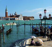 In the shade of San Giorgio, Venice by artfulvistas