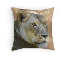 I Just Ate the Canary! Throw Pillow