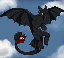 Toothless by Hydieho