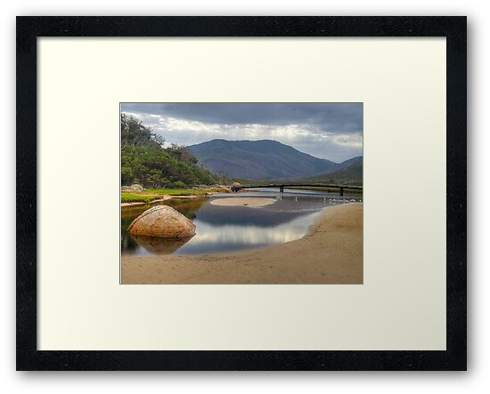 HDR image of Tidal River, Wilsons Promontory, Victoria. by johnrf