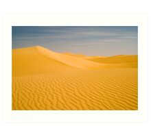 Early morning dune show Art Print