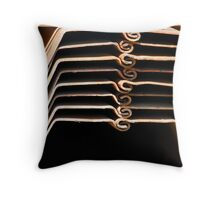 Stacked & Spirals Throw Pillow