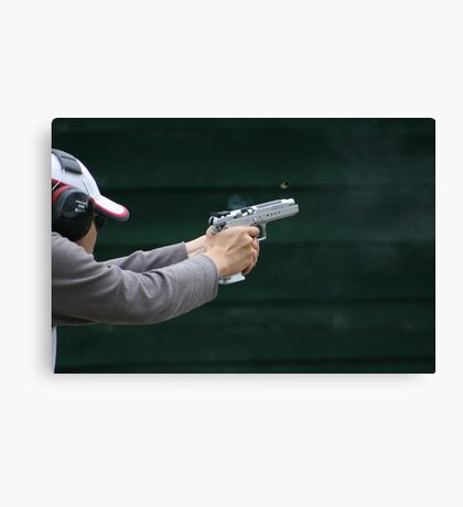 Ejecting Cartridge Canvas Print