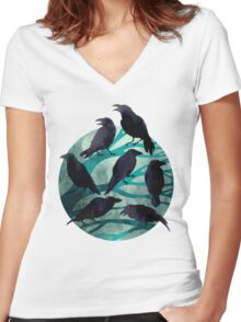 The Gathering Women's Fitted V-Neck T-Shirt