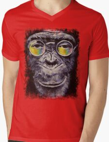 Beatnik Mens V-Neck T-Shirt
