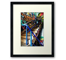 Stairway to Abandonment Framed Print