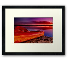 """Riverdawn"" Framed Print"