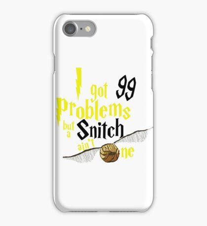 Badger Problems iPhone Case/Skin