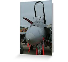 F/A18 Fighter Greeting Card