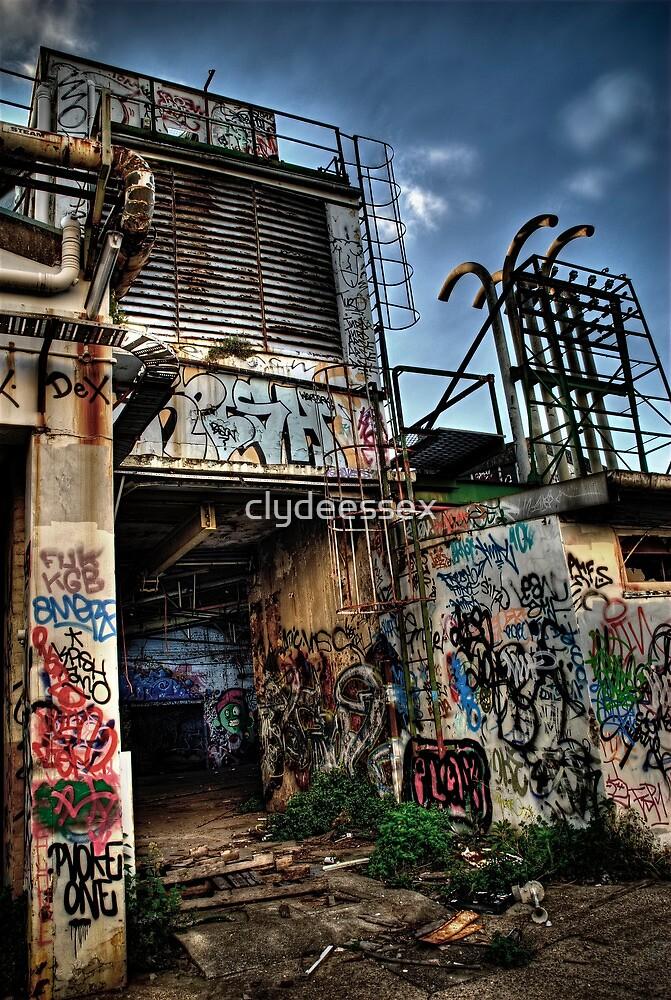Urban Artscape by clydeessex