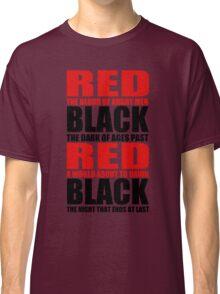 Red & Black Classic T-Shirt