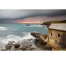 Lizard Point Storm. Photographic Print