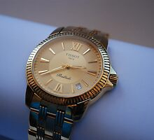 TISSOT Ballade gold wristwatch by watches