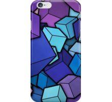 Geometric Purple Modern Abstract iPhone Case/Skin