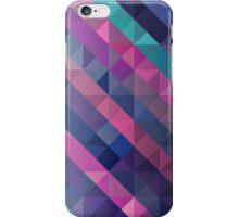Modern Purple Geometric Abstract iPhone Case/Skin
