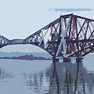 Forth Rail Bridge by emanon