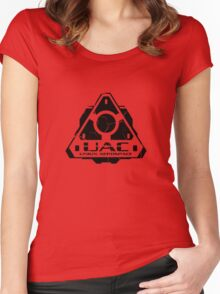 Union Aerospace Corporation Women's Fitted Scoop T-Shirt