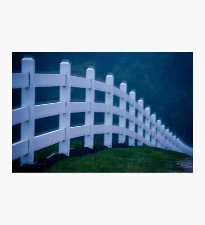 Dream Fence Photographic Print