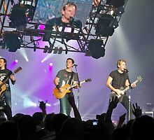 Nickelback in Concert ~ MINNEAPOLIS, MINNESOTA by Diane Trummer Sullivan