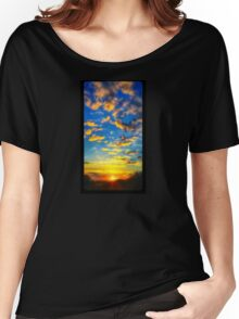 Sundown Women's Relaxed Fit T-Shirt
