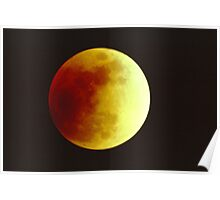 Lunar Eclipse July 16, 2000 Poster